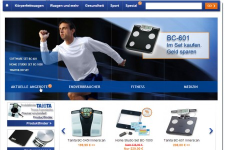 Tanita Online GmbH: Onlineshop